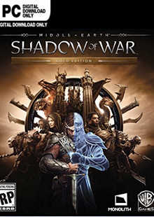 Middle-earth Shadow of War Gold Edition PC cheap key to download