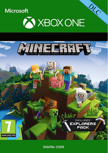 Minecraft: Explorers Pack DLC Xbox One cheap key to download