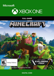 Minecraft Explorers Pack - Xbox One cheap key to download