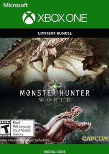 Monster Hunter: World - Deluxe Edition Xbox One cheap key to download