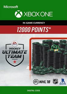 NHL 18: Ultimate Team NHL Points 12000 Xbox One chiave a buon mercato per il download