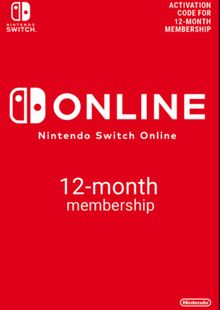 Nintendo Switch Online 12 Month (365 Day) Membership Switch chiave a buon mercato per il download