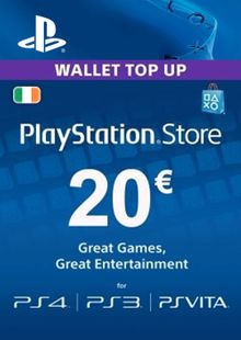 PlayStation Network (PSN) Card - 20 EUR (Ireland) cheap key to download