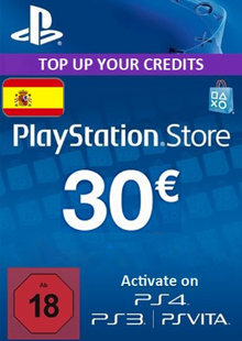 PlayStation Network (PSN) Card - 30 EUR (Spain) cheap key to download