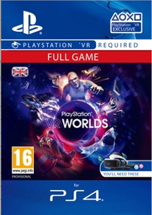 PlayStation VR Worlds PS4 cheap key to download