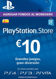 PlayStation Network (PSN) Card - 10 EUR (Spain) chiave a buon mercato per il download