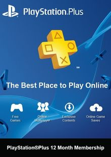PlayStation Plus (PS+) - 12 Month Subscription (Switzerland) cheap key to download