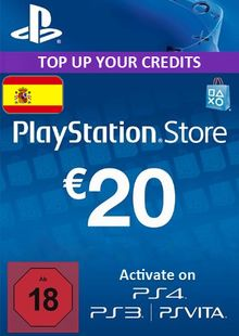 PlayStation Network (PSN) Card - 20 EUR (Spain) cheap key to download