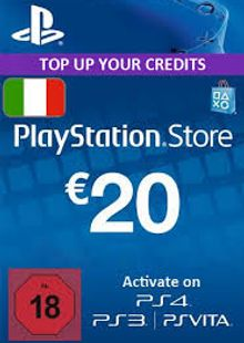 PlayStation Network (PSN) Card - 20 EUR (Italy) cheap key to download