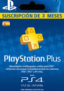 PlayStation Plus (PS+) - 3 Month Subscription (Spain) cheap key to download