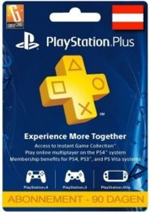 PlayStation Plus (PS+) - 3 Month Subscription (Austria) cheap key to download