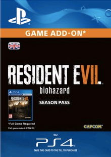 Resident Evil 7 - Biohazard Season Pass PS4 cheap key to download
