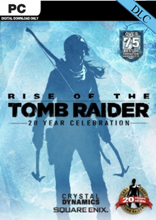 Rise of the Tomb Raider 20 Year Celebration Pack DLC cheap key to download