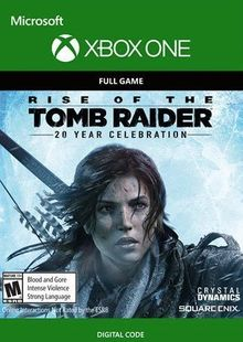 Rise of the Tomb Raider 20 Year Celebration Xbox One cheap key to download