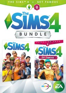 The Sims 4 Plus Get Famous Bundle PC cheap key to download