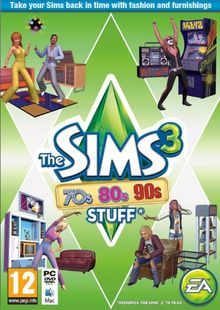 The Sims 3: 70s, 80s and 90s Stuff PC cheap key to download