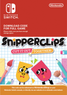 SnipperClips - Cut It Out Together Switch cheap key to download
