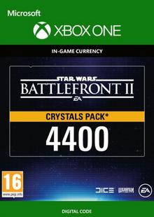 Star Wars Battlefront 2: 4400 Crystals Xbox One chiave a buon mercato per il download