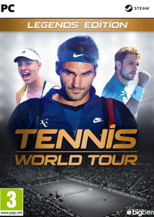 Tennis World Tour Legends Edition PC cheap key to download