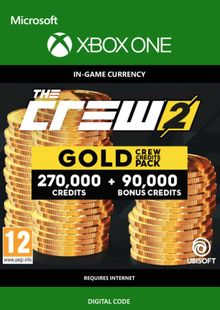 The Crew 2 Gold Crew Credits Pack Xbox One cheap key to download
