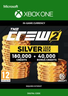The Crew 2 Silver Crew Credits Pack Xbox One cheap key to download