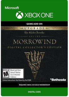 The Elder Scrolls Online Morrowind Collectors Edition Upgrade Xbox One