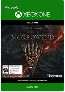 The Elder Scrolls Online Morrowind Xbox One cheap key to download