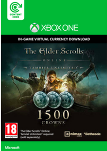 The Elder Scrolls Online Tamriel Unlimited 1500 Crowns Xbox One - Digital Code cheap key to download