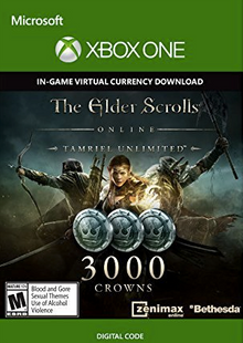 The Elder Scrolls Online Tamriel Unlimited 3000 Crowns Xbox One - Digital Code cheap key to download