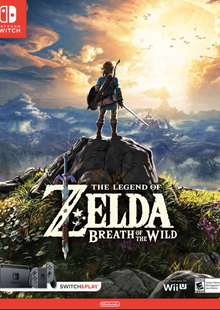 The Legend of Zelda - Breath of the Wild Switch cheap key to download