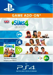 The Sims 4 Bundle PS4 cheap key to download