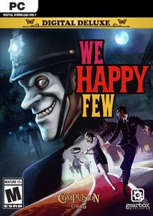 We Happy Few Deluxe Edition PC cheap key to download