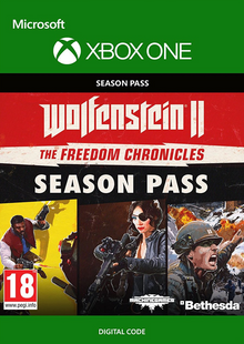 Wolfenstein 2: The Freedom Chronicles Season Pass Xbox One cheap key to download