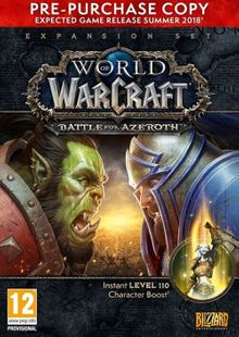 World of Warcraft (WoW) Battle for Azeroth - Pre-Purchase PC (EU) cheap key to download