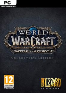 World of Warcraft Battle for Azeroth - Collector's Edition PC (EU) billig Schlüssel zum Download