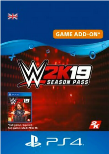 WWE 2K19 Season Pass PS4