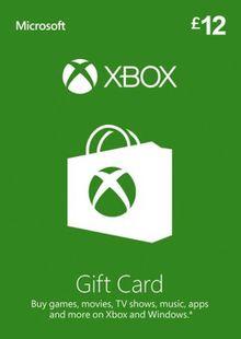 Xbox Gift Card - 12 GBP chiave a buon mercato per il download