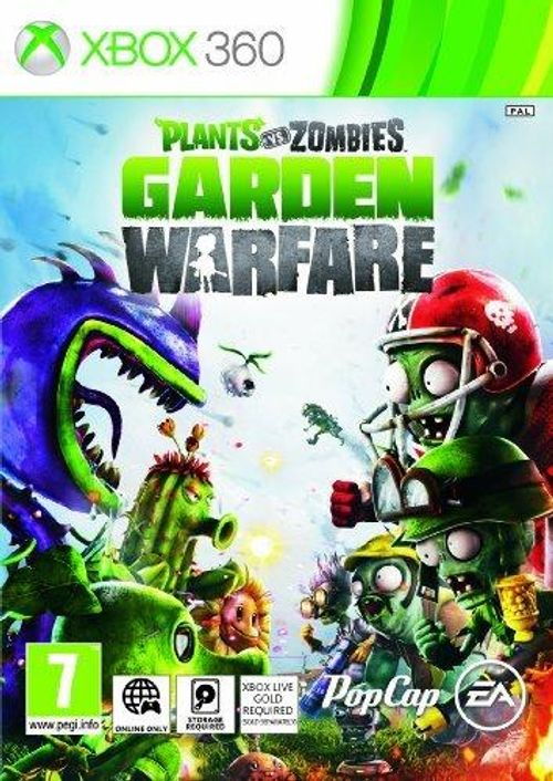 Plants Vs Zombies: Garden Warfare Xbox 360 CD Key, Key - cdkeys.com