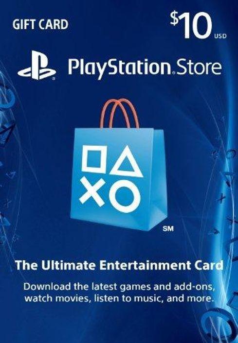 $10 PlayStation Store Gift Card - PS3/ PS4/ PS Vita