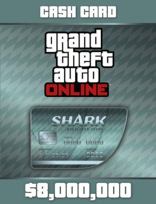 Grand Theft Auto Online: Megalodon Shark Cash Card PC Online Code CD Key, Steam Key - cdkeys.com