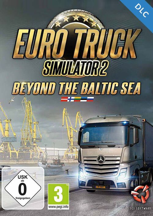 euro truck simulator 2 beyond the baltic sea dlc pc cd key. Black Bedroom Furniture Sets. Home Design Ideas