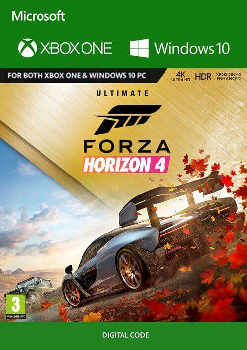 forza horizon 4 ultimate edition xbox one pc cd key key