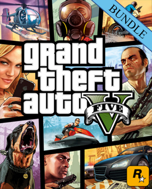 Grand Theft Auto V 5 - Great White Shark Card Bundle PC
