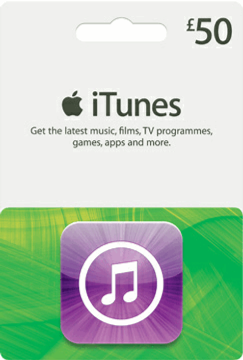 iTunes Gift Card - £50