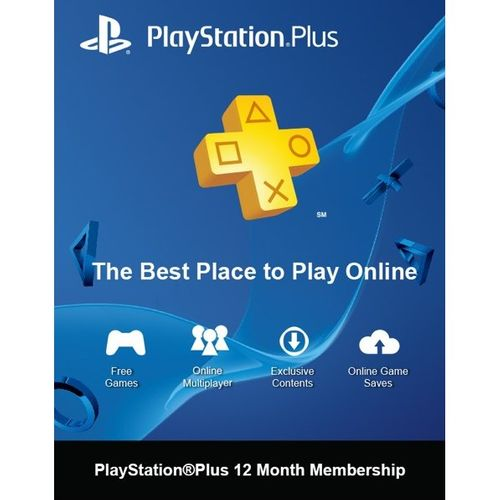 PlayStation Plus (PS+) - 12 Month Subscription (Switzerland)