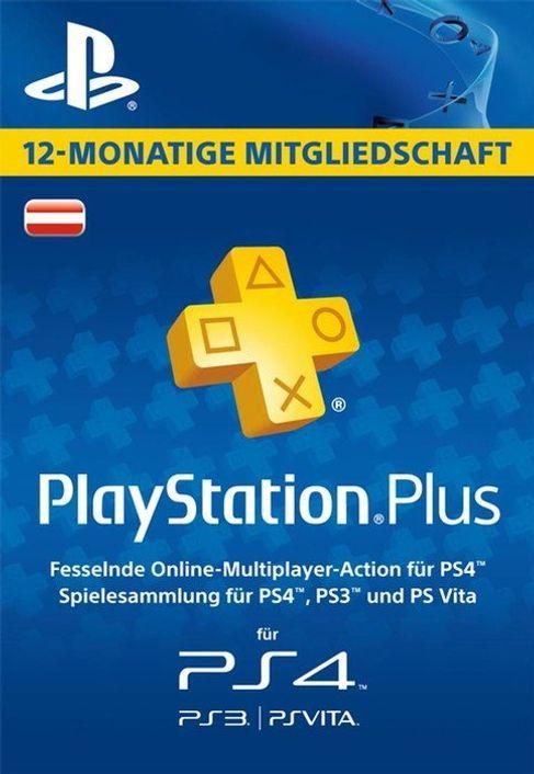 PlayStation Plus (PS+) - 12 Month Subscription (Austria)