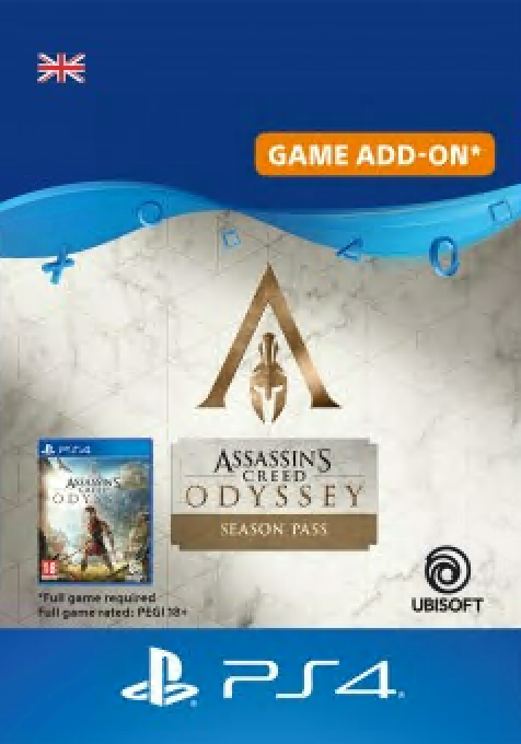 Assassin's Creed Odyssey Season Pass PS4