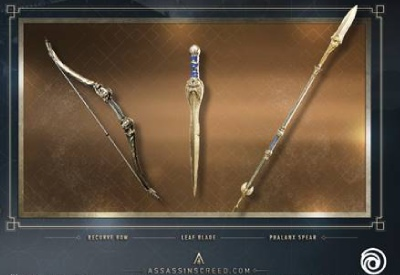 Assassins Creed Odyssey Athenian Weapons Pack DLC PS4 CD ...
