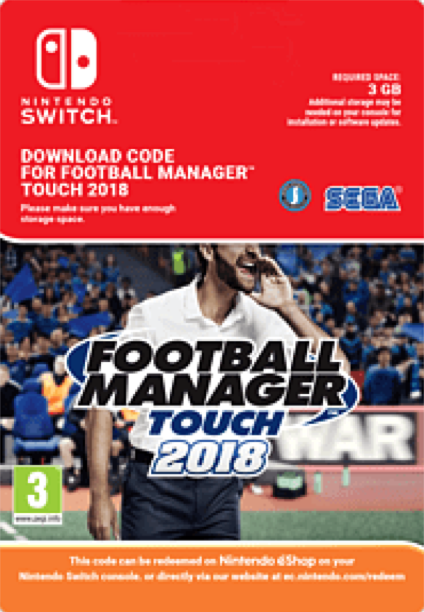 Football Manager FM Touch 2018 Nintendo Switch