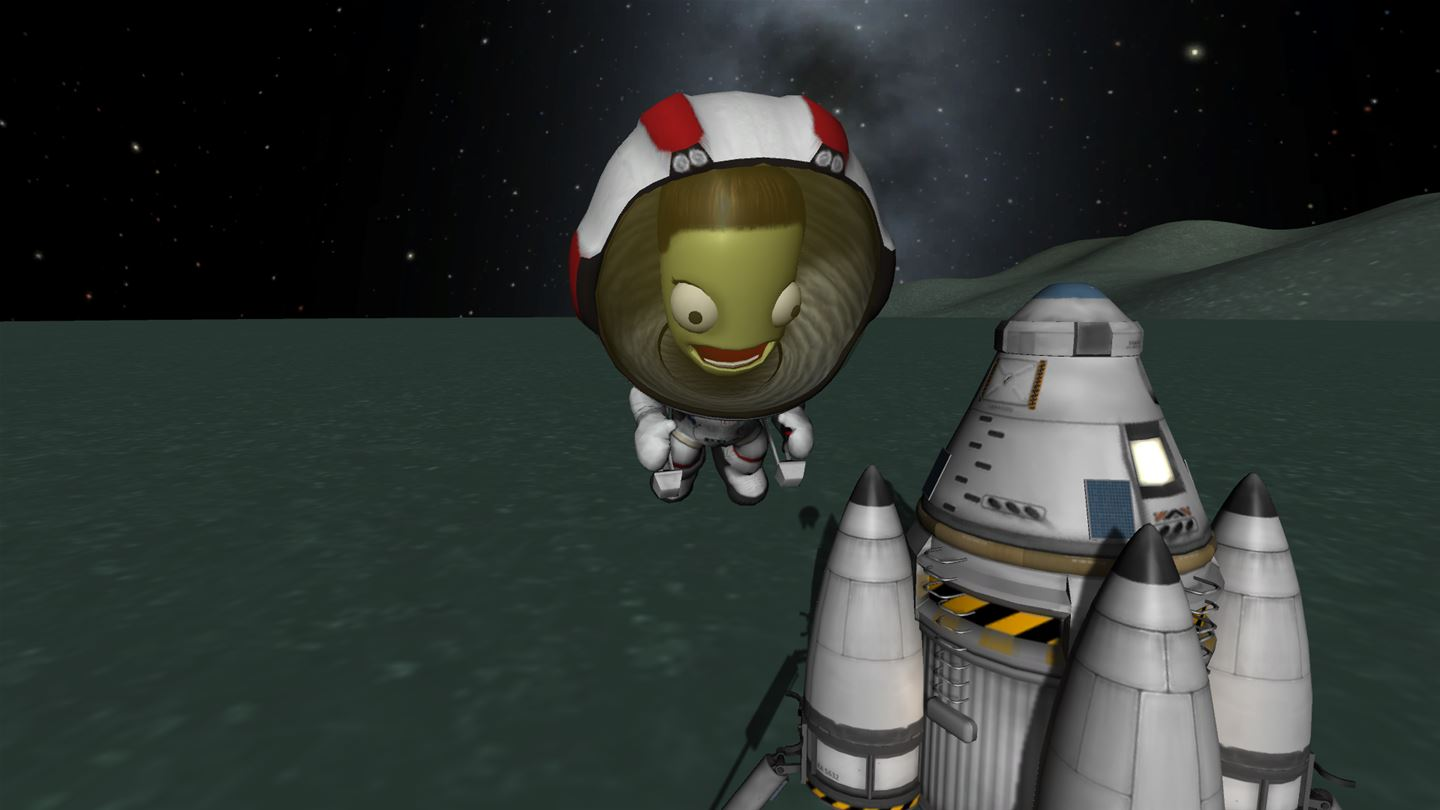 how to play kerbal space program xbox one